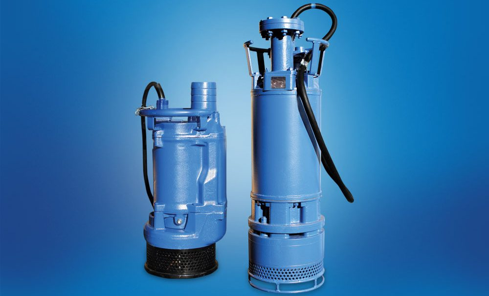 The Hevvy Pumps submersible DXL pump.