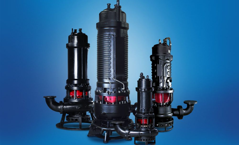 slurry pumps submersible integrated sealing system for slurries.