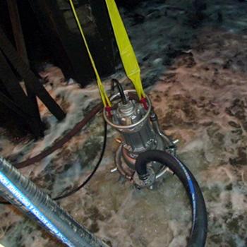 A steel mill using a Hevvy slurry pump